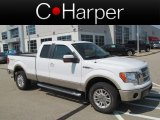 2010 Oxford White Ford F150 Lariat SuperCab 4x4 #70687135