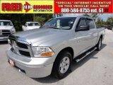 2010 Bright Silver Metallic Dodge Ram 1500 SLT Crew Cab #70687785