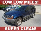 2002 Patriot Blue Pearlcoat Jeep Grand Cherokee Laredo 4x4 #70687129