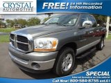 2006 Mineral Gray Metallic Dodge Ram 1500 SLT Quad Cab #70687782