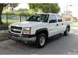 2003 Summit White Chevrolet Silverado 1500 LT Crew Cab 4x4 #70687467