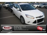 2012 Oxford White Ford Focus SE 5-Door #70687123