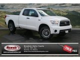 2012 Super White Toyota Tundra TRD Rock Warrior Double Cab 4x4 #70687094