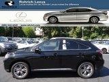 2013 Obsidian Black Lexus RX 450h AWD #70687447