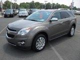 2010 Mocha Steel Metallic Chevrolet Equinox LTZ #70687761