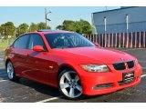 2006 Electric Red BMW 3 Series 325i Sedan #70687432