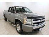 2008 Graystone Metallic Chevrolet Silverado 1500 LT Extended Cab 4x4 #70687731