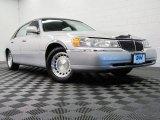 2000 Silver Frost Metallic Lincoln Town Car Executive #70687704