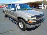2002 Light Pewter Metallic Chevrolet Silverado 1500 LT Crew Cab 4x4 #70749343