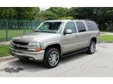 2001 Light Pewter Metallic Chevrolet Suburban 1500 LT #70748989