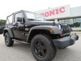 2012 Black Jeep Wrangler Call of Duty: MW3 Edition 4x4 #70748977