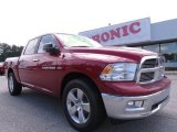 2012 Deep Cherry Red Crystal Pearl Dodge Ram 1500 Big Horn Crew Cab #70748967