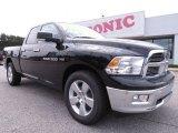 2012 Black Dodge Ram 1500 Big Horn Quad Cab #70748963