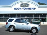 2009 Light Ice Blue Metallic Ford Escape Hybrid Limited 4WD #70748943