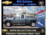 2007 Blue Granite Metallic Chevrolet Silverado 1500 LT Extended Cab 4x4 #70749600