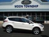 2013 White Platinum Metallic Tri-Coat Ford Escape Titanium 2.0L EcoBoost 4WD #70748929