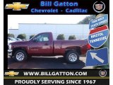 2013 Deep Ruby Metallic Chevrolet Silverado 1500 LS Regular Cab #70749583