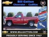 2013 Victory Red Chevrolet Silverado 1500 Work Truck Regular Cab #70749580