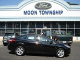 2013 Tuxedo Black Ford Focus SE Sedan #70748921