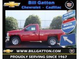 2013 Victory Red Chevrolet Silverado 1500 LS Regular Cab #70749576