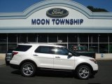 2013 White Platinum Tri-Coat Ford Explorer Limited 4WD #70748920