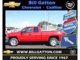 2012 Victory Red Chevrolet Silverado 1500 LT Extended Cab 4x4 #70749567