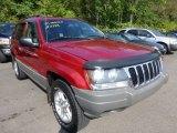 2002 Dark Garnet Red Pearlcoat Jeep Grand Cherokee Laredo 4x4 #70748917
