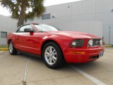 2007 Torch Red Ford Mustang V6 Premium Convertible #70749513