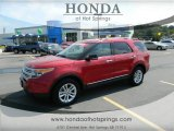 2011 Red Candy Metallic Ford Explorer XLT 4WD #70749171