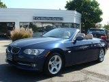 2011 Deep Sea Blue Metallic BMW 3 Series 335i Convertible #70748806