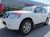 2012 Blizzard White Nissan Armada Platinum #70749109