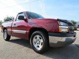 2005 Sport Red Metallic Chevrolet Silverado 1500 LS Regular Cab #70749103
