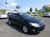 2012 Tuxedo Black Metallic Ford Focus SEL Sedan #70818415