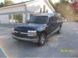 2000 Indigo Blue Metallic Chevrolet Silverado 1500 Regular Cab 4x4 #70819198