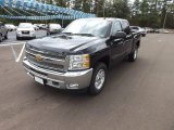 2012 Black Granite Metallic Chevrolet Silverado 1500 LT Crew Cab 4x4 #70818819