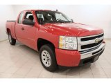 2009 Victory Red Chevrolet Silverado 1500 Extended Cab #70818770