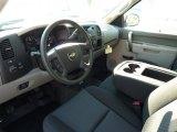 2013 Chevrolet Silverado 1500 Work Truck Crew Cab 4x4 Ebony Interior