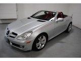 2010 Mercedes-Benz SLK Iridium Silver Metallic