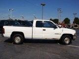 1999 Bright White Dodge Ram 1500 SLT Extended Cab #70818281