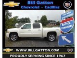 2013 White Diamond Tricoat Chevrolet Silverado 1500 LTZ Crew Cab 4x4 #70819088