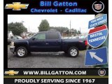 2012 Imperial Blue Metallic Chevrolet Silverado 1500 LT Crew Cab 4x4 #70819085
