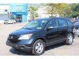 2009 Crystal Black Pearl Honda CR-V LX 4WD #70819077