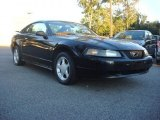 2002 Black Ford Mustang V6 Coupe #70818267