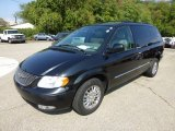 2003 Brilliant Black Pearl Chrysler Town & Country Limited #70818697