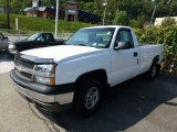 2003 Summit White Chevrolet Silverado 1500 LS Regular Cab 4x4 #70818690