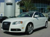 2008 Ibis White Audi A4 2.0T Special Edition Sedan #706166