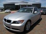 2007 Titanium Silver Metallic BMW 3 Series 328i Sedan #7068332