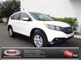 2012 White Diamond Pearl Honda CR-V EX-L #70818204