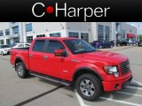 2011 Race Red Ford F150 FX4 SuperCrew 4x4 #70818148