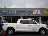 2010 Super White Toyota Tundra TRD CrewMax 4x4 #70818614